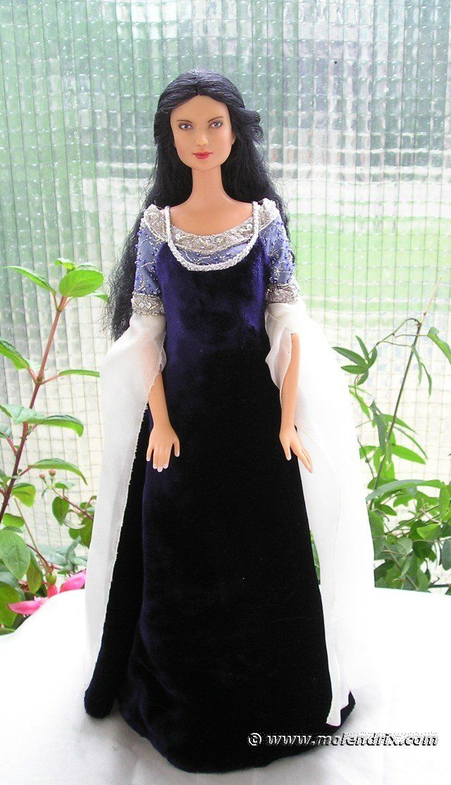 ARWEN - Requiem outfit OOAK dress Free Pattern for Barbie doll ...