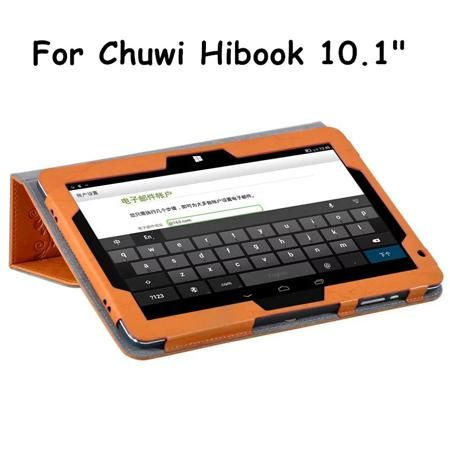 For Chuwi Hi Book/HIBook 10.1Inch Dual OS Tablet Case Floral Print Elegant PU Leather Stand Case Cover +Gift  — 721.77 руб. —