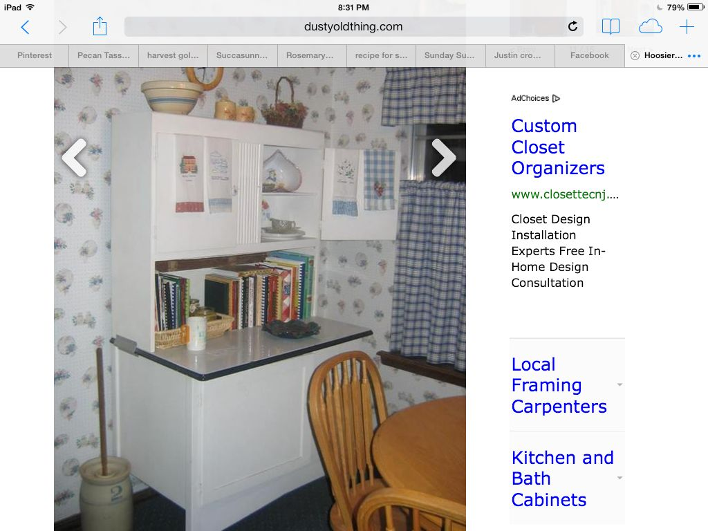 Repurposed Hoosier Cabinet