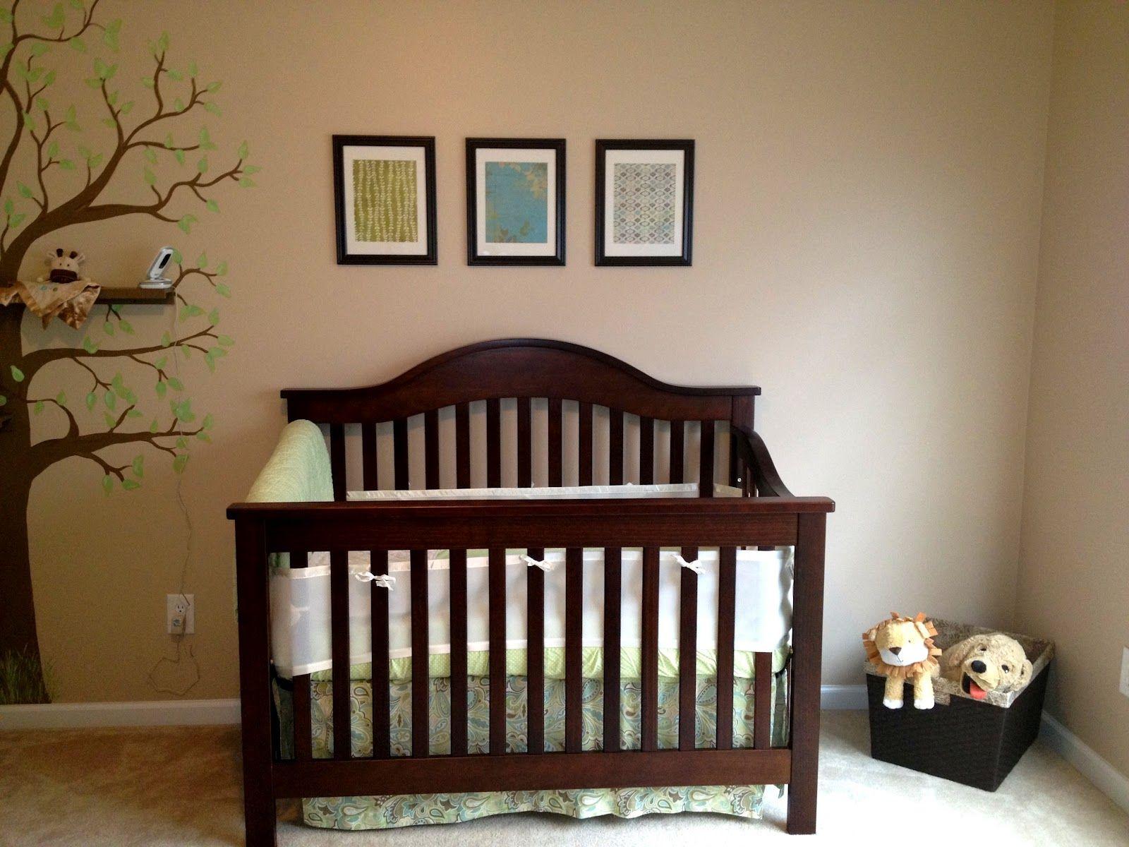 Best Dark Crib With Grey Brown Dresser Baby Boy Room Nursery 400 x 300