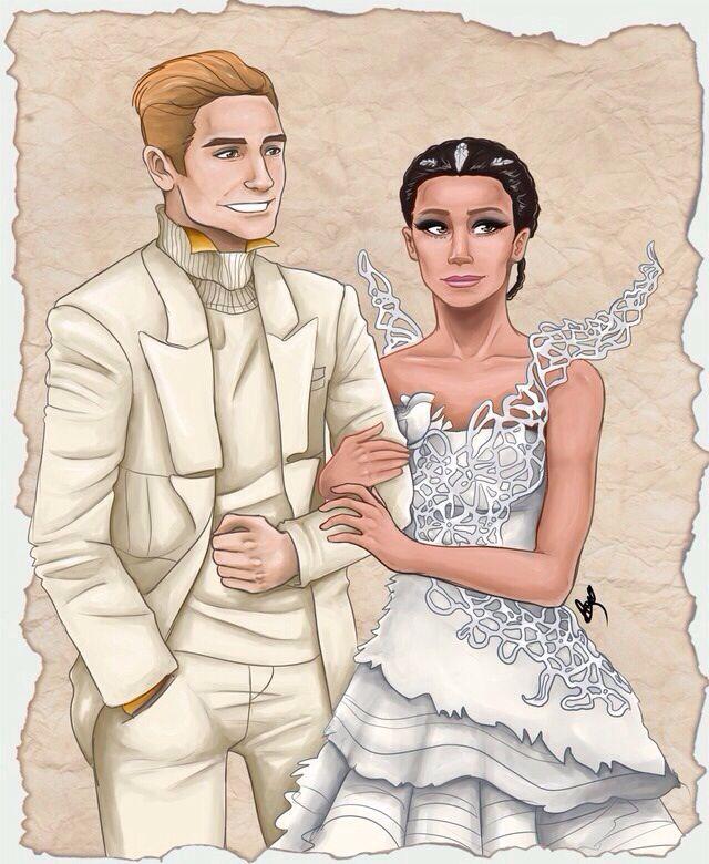 Peeta and Katniss | Hunger games fan art, Katniss, Peeta