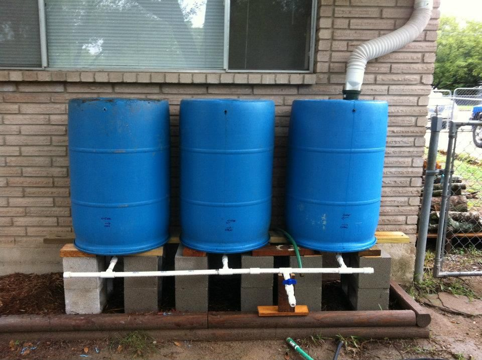 Home water storage phat betsy design life and all for Home rainwater collection