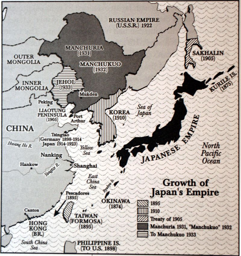 japanese empire map Google Search Asian Studies Final