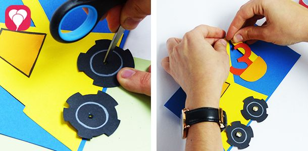 Beim Bauarbeiter Kindergeburtstag Ist Unsere DIY Bagger Einladung Der  Perfekte Weg, Die Kleinen Baumeister Zur