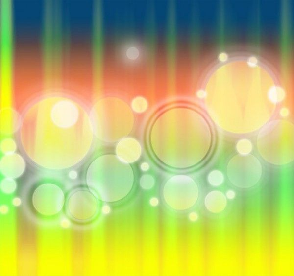 Awesome 3 Glowing Rings Abstract Light Backgrounds PSD Freebie ...