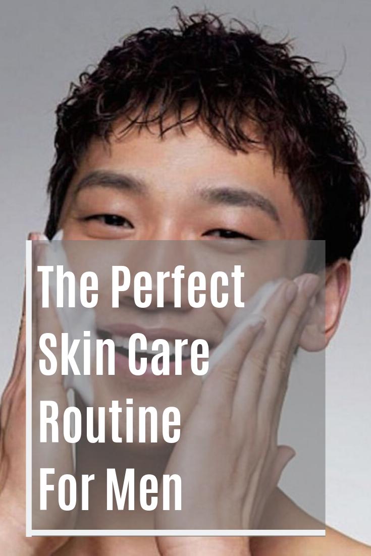 Pin On Men S Skincare Routine