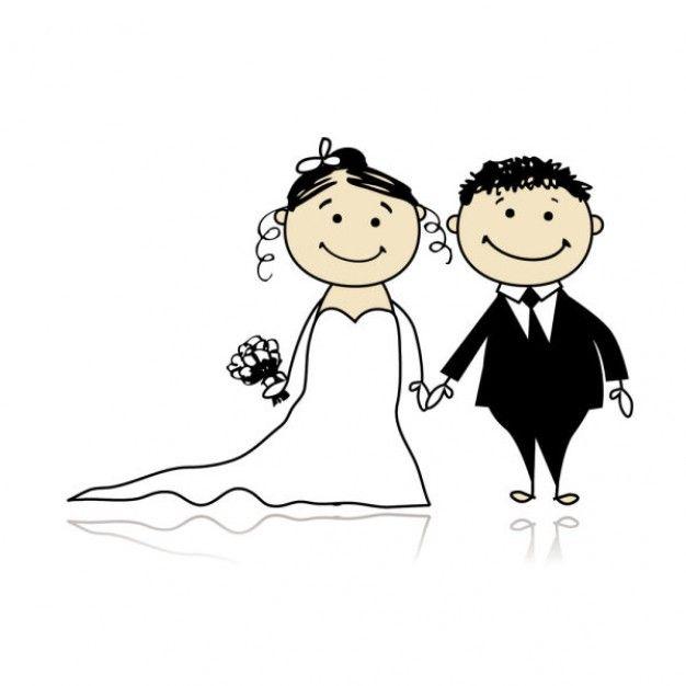 Matrimonio Catolico Animado : Estilo de dibujos animados elementos la boda
