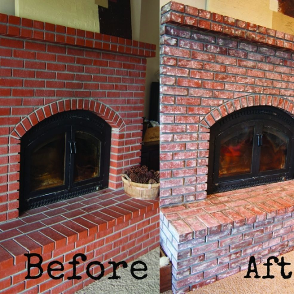 How To Age And Distress Bricks