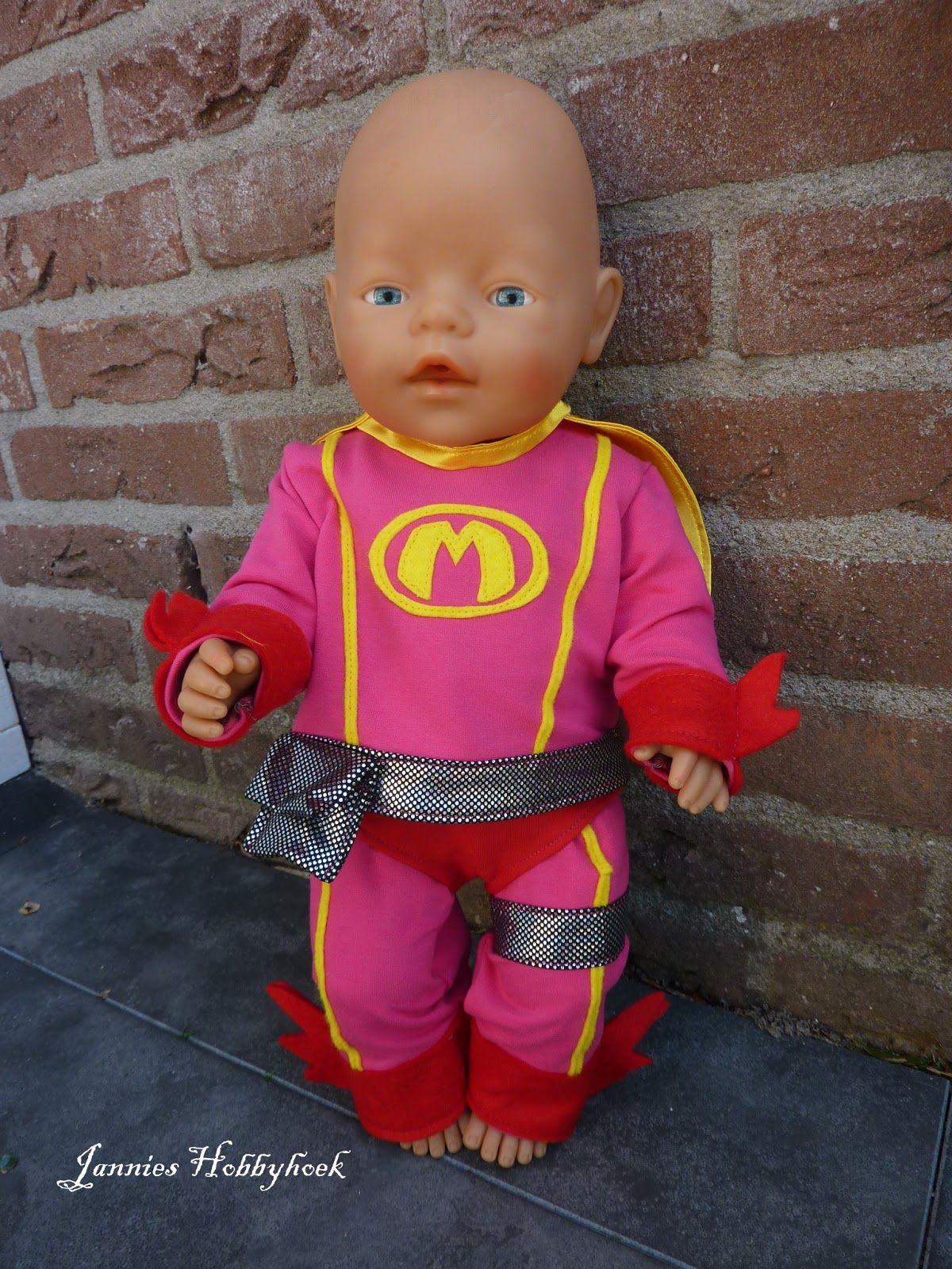 Jannies Hobbyhoek Poppenkleding Babypop Kleding Handgemaakte Kleding