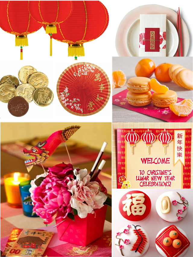 Last minute chinese new year party ideas for Last minute party ideas