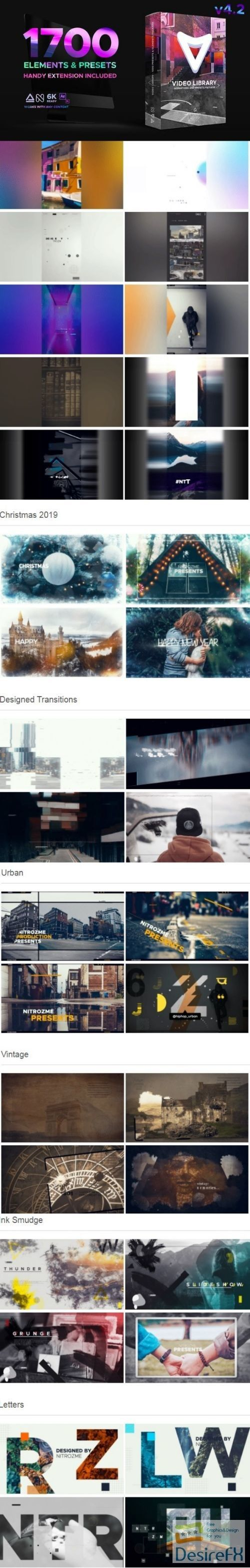 Videohive Video Library Video Presets Package V4 2 21390377