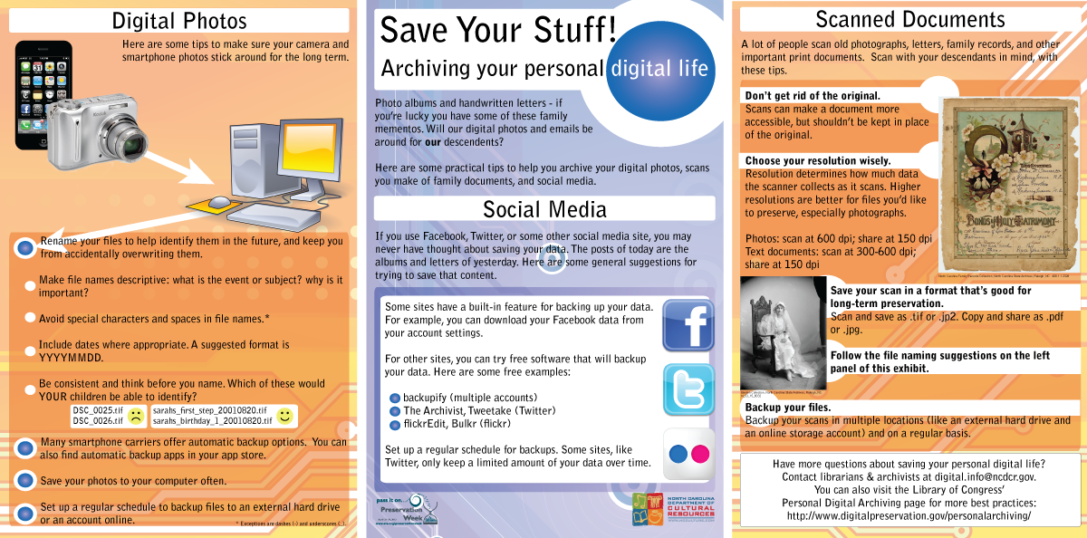 Save Your Stuff Archiving Your Personal Digital Life from