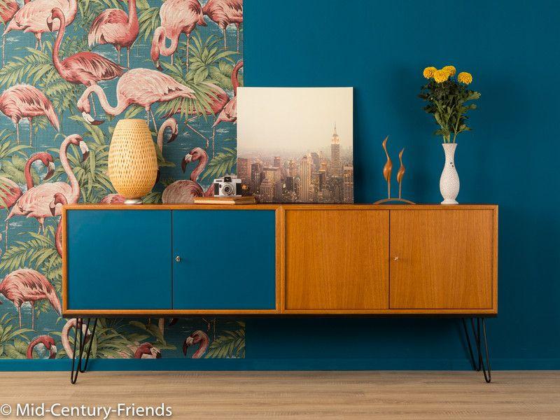 60er sideboard kommode 50er wk vintage kommode friends und 60er. Black Bedroom Furniture Sets. Home Design Ideas