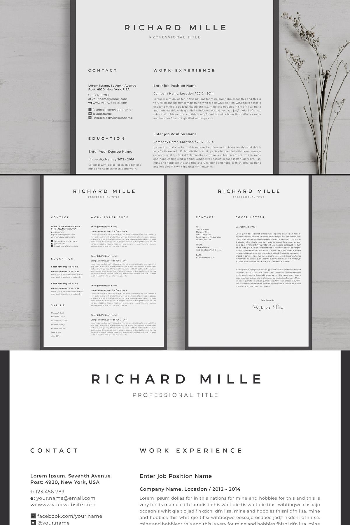 to UXGroup! This is our 1 page resume template