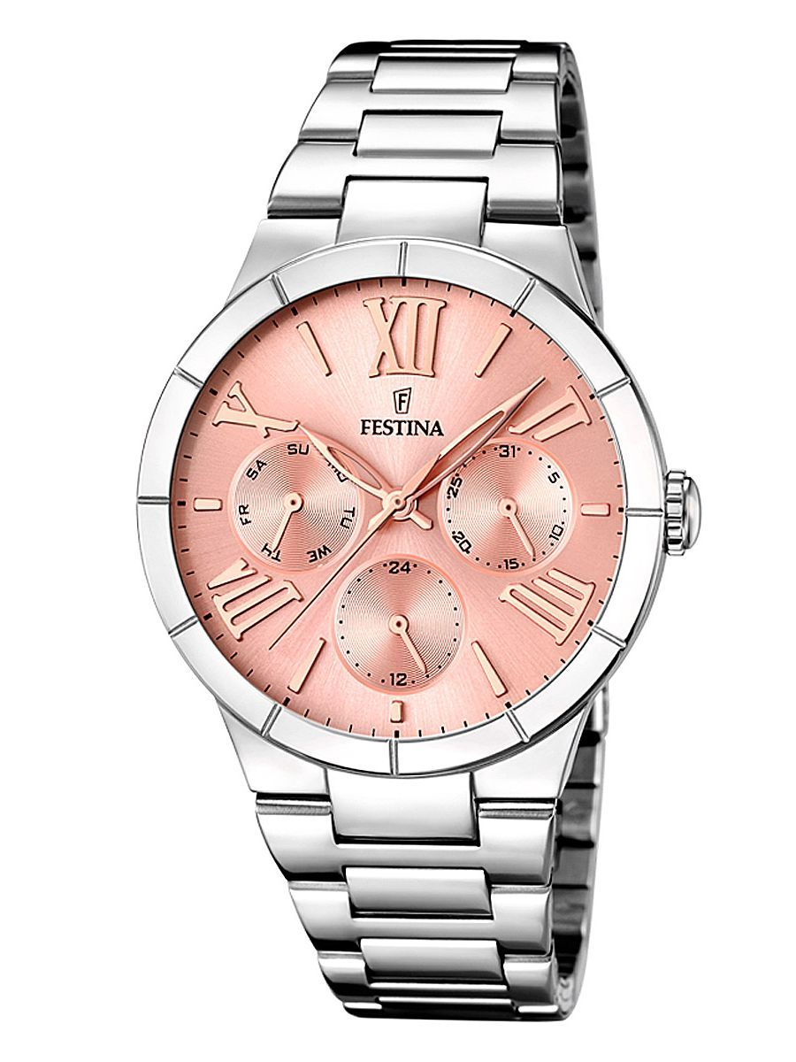 Festina F16716 3 Multifunktion Damen Uhr In 2019 Jewelry