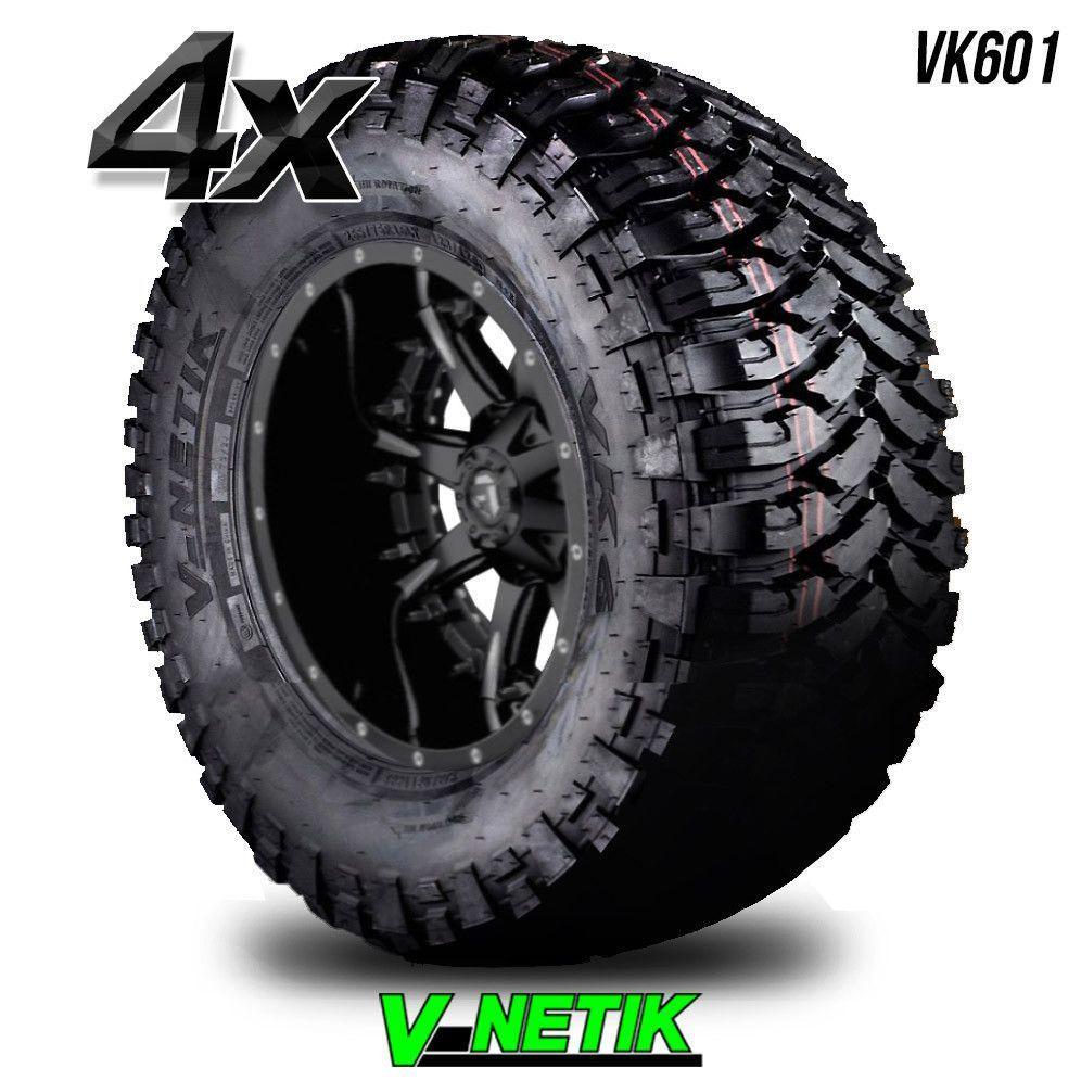 Toyota West Palm Beach >> 4 V-Netik VK601 Mud MT BW LT 285/70R17 2857017 285 70 17 ...