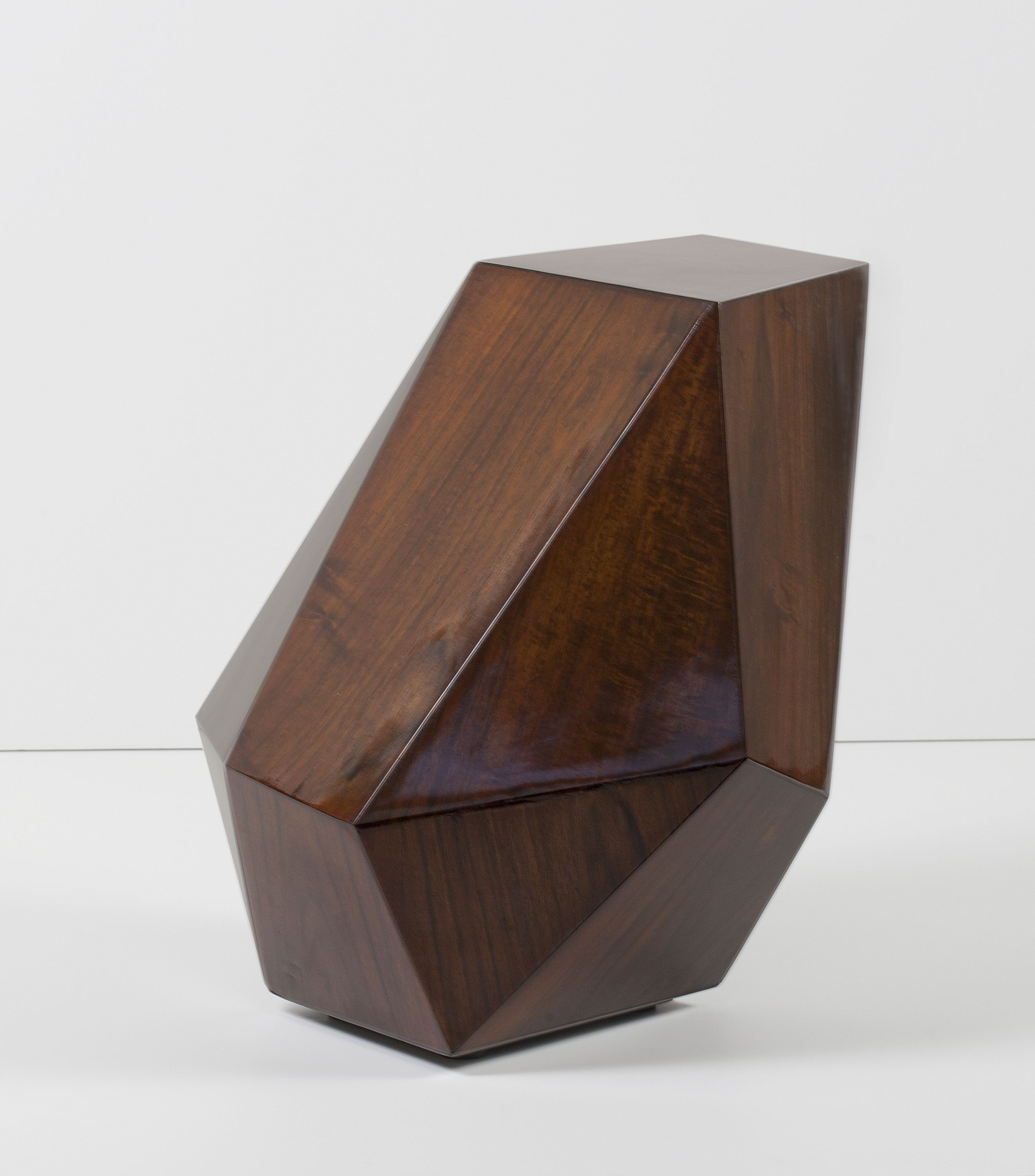 Side Table 40 Euro.2013 Limited Edition Of 40 Pieces Asymmetric Multifaceted