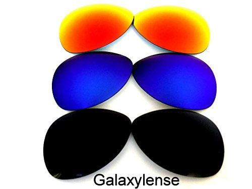 425f9b0c22 Galaxylense Galaxy Replacement Lenses For Oakley Plaintiff Polarized Black