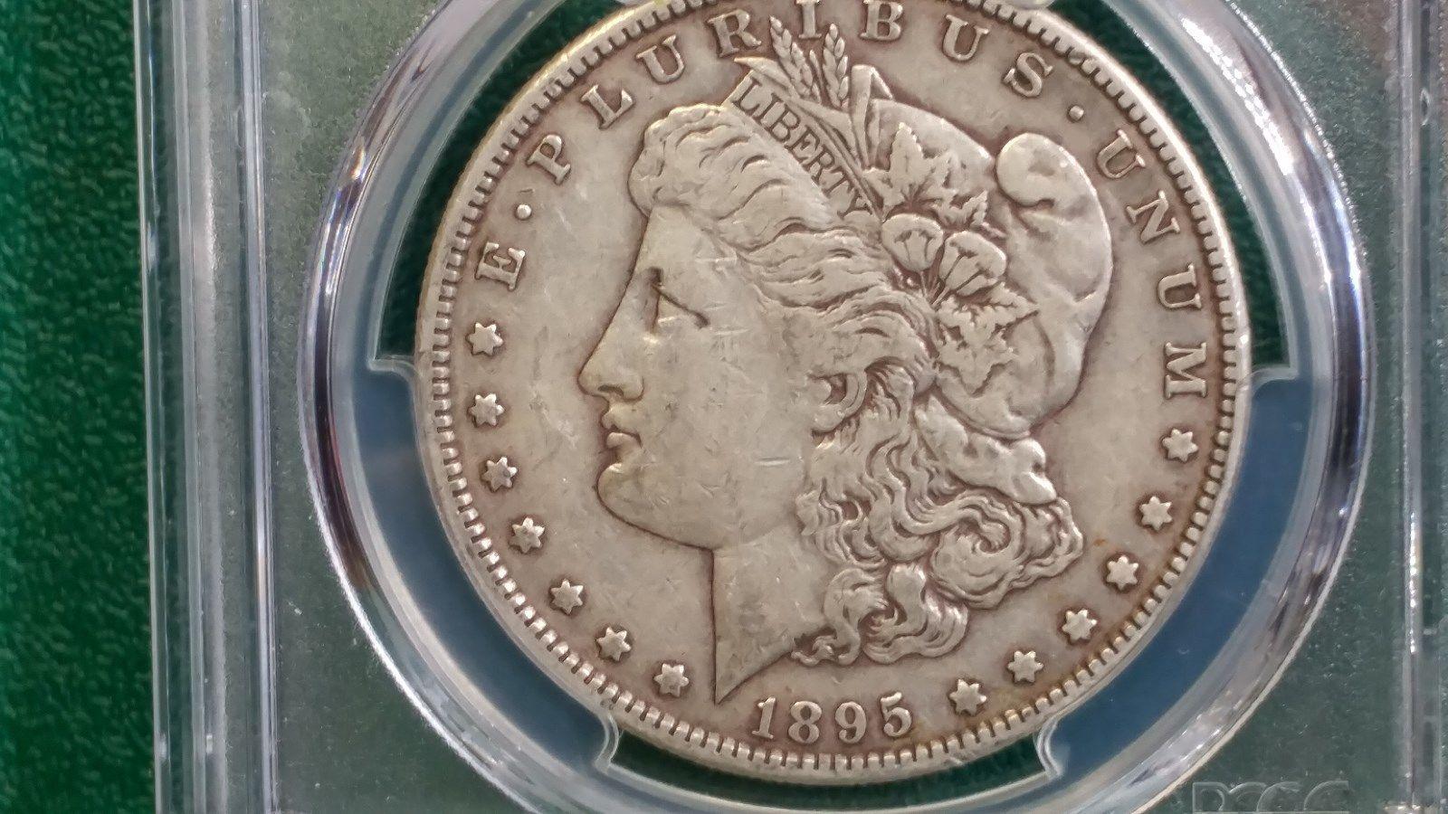 1895S 1 Silver Dollar VF35 !! WOW PCGS PRICE