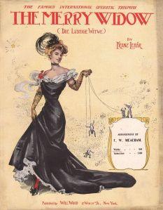 The Merry Widow Sheet Music 1907 Old Sheet Music Sheet Music Art Digital Sheet Music
