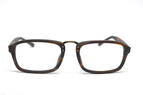 SALE Acetate Glasses Wood Grain Eyeglass Frames Prescription ...