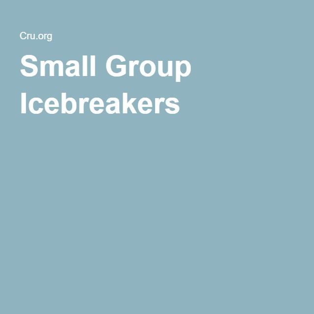 Small Group Icebreakers  Womens Ministry  Group Ice -5634