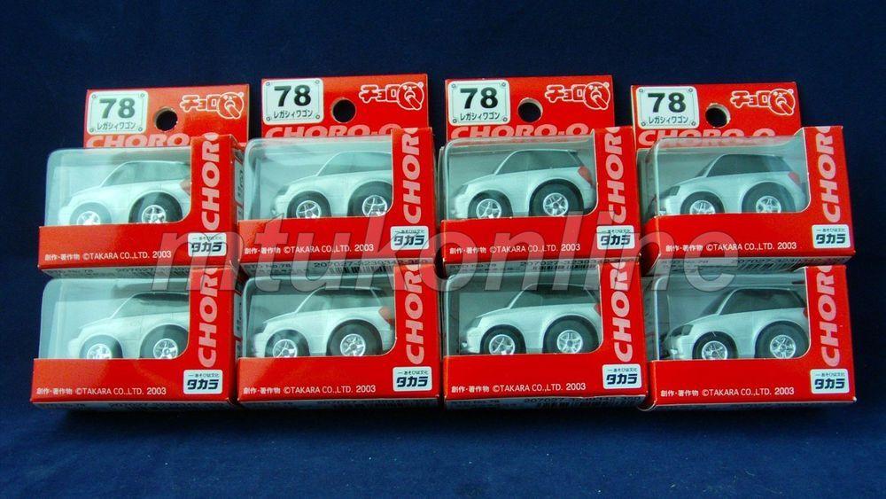 Choro Q Standard 2003 Subaru Legacy Estate Bp5 2003 No 78 Sell As Lot Subaru Legacy Subaru Diecast Cars