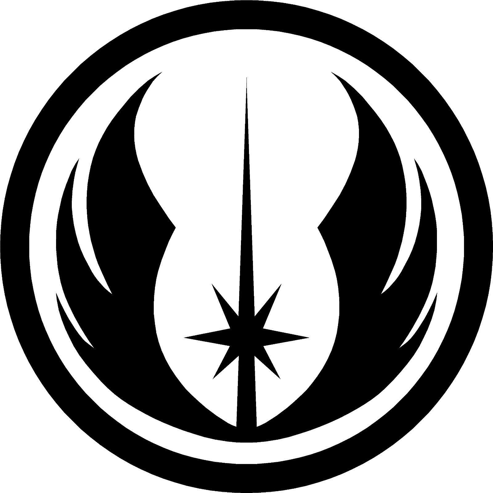 £3 5 gbp 2x star wars logo jedi order vinyl decal sticker ebay collectibles