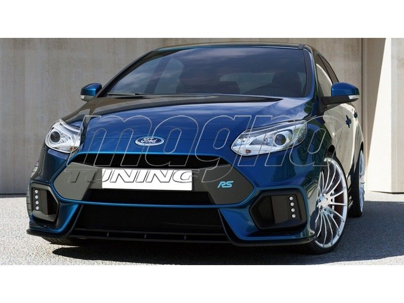 Ford Focus 3 Rs Look Front Bumper Ford Focus Ford Focus 3 Focus 3