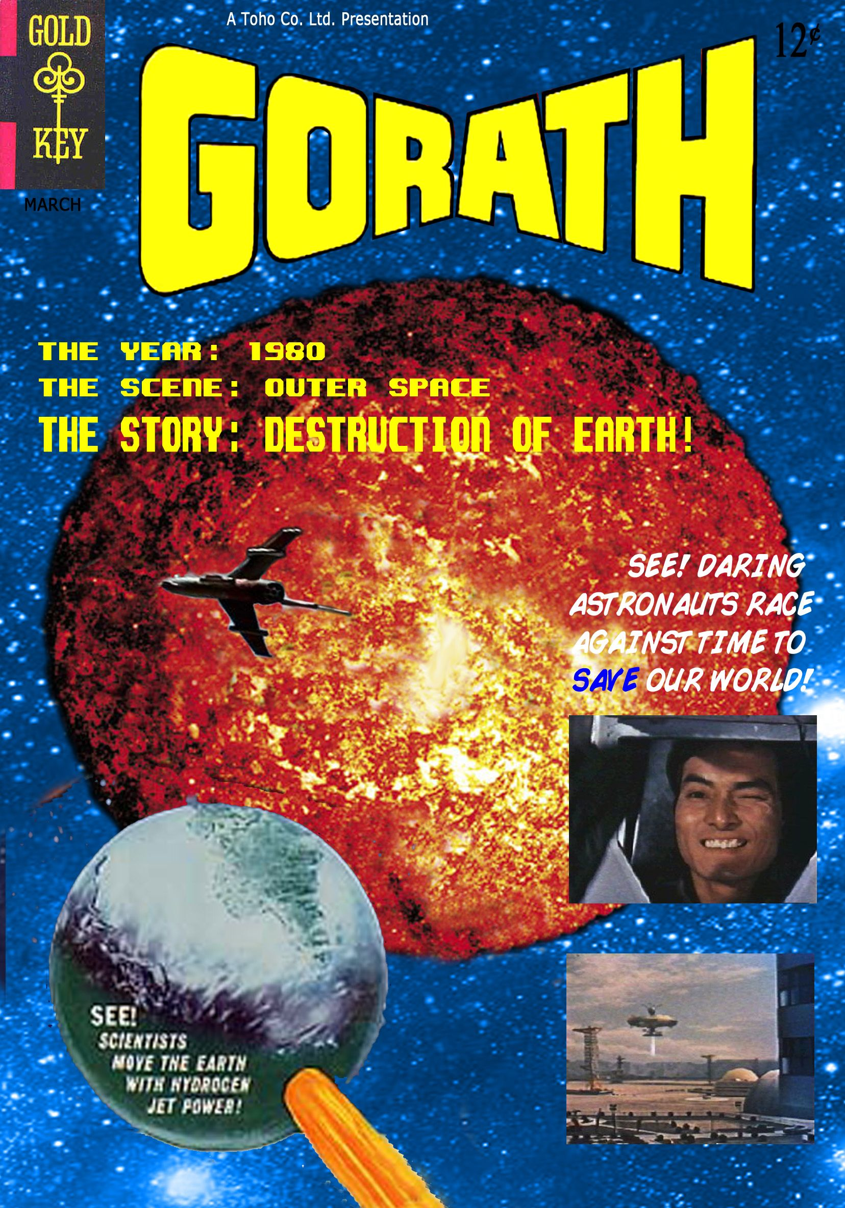 Gorath's one of the hardesttosee (at least for US