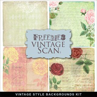 Free Vintage Style Paper Kit