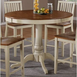 b3471b0452f32d Carla 48-inch Round Counter Height Dining Table | Overstock.com Shopping -  Great Deals on Dining Tables