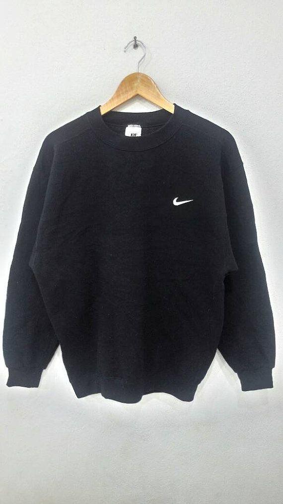 Regaño extremidades mosaico  Venta Vintage Nike Swoosh sudadera talla L por TimsVintageStore | Vintage  nike sweatshirt, Nike outfits, Sweatshirts