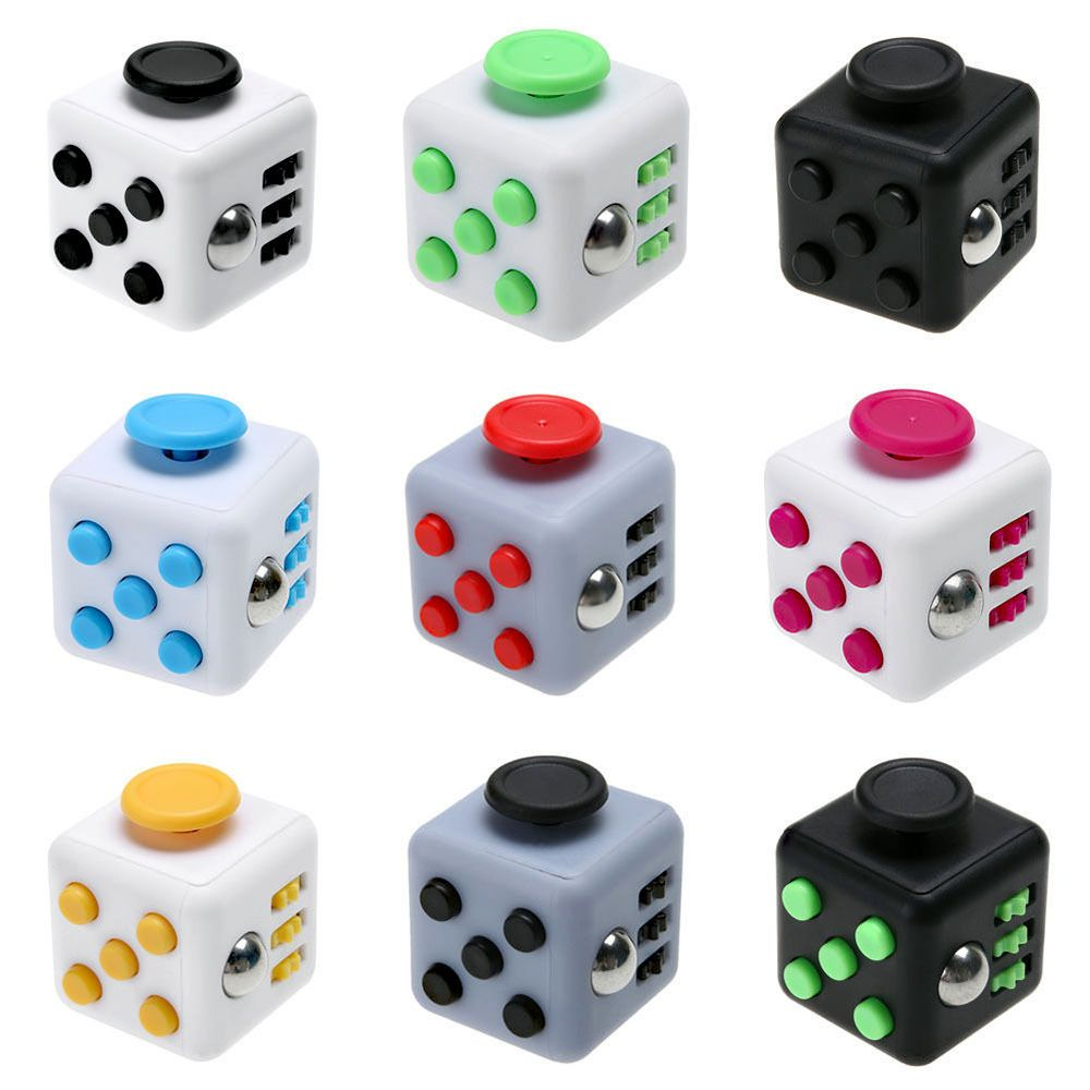 Stress Cube for Fidgeters Relieve Stress Anxiety Boredom for Children and Adults