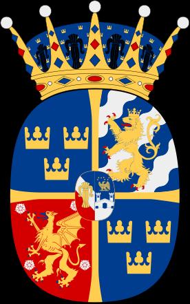 Coat Of Arms For Hrh Estelle Silvia Ewa Mary Princess Of Sweden Duchess Of Ostergotland Family Crest S N History Prinsessa Sverige Och Vapen