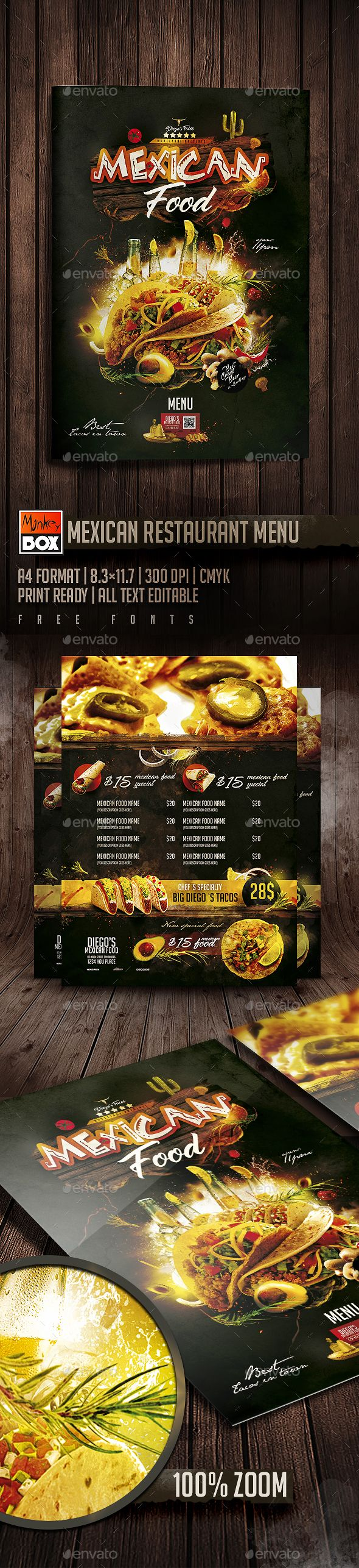 pin by maria alena on food restaurant menu flyre templates