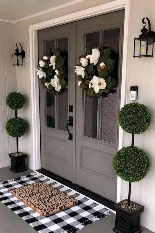 Front Door Decor | WEBvisit DIY Front Door Decor