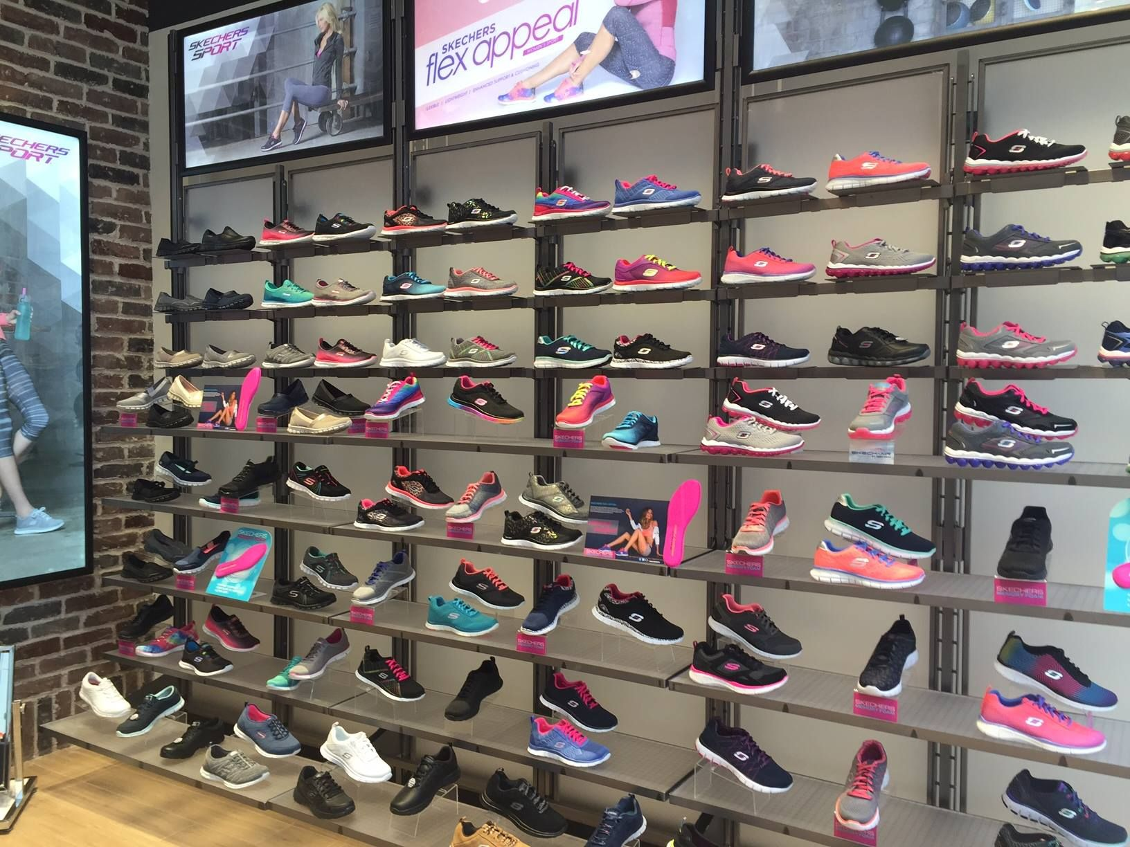 Skechers Istanbul Shop Interior Shopping Skechers