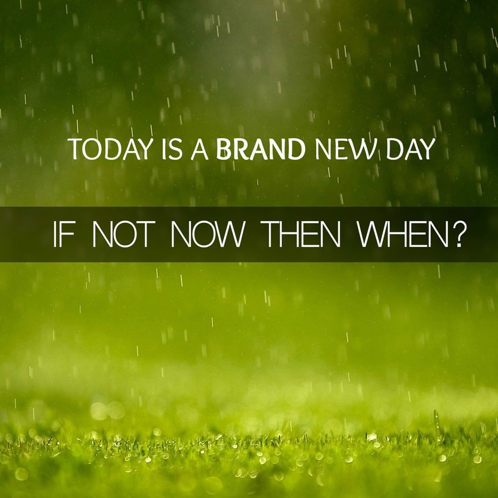 New Day Quotes Today Is A Brand New Day  Motivational Quote Today Is A Brand