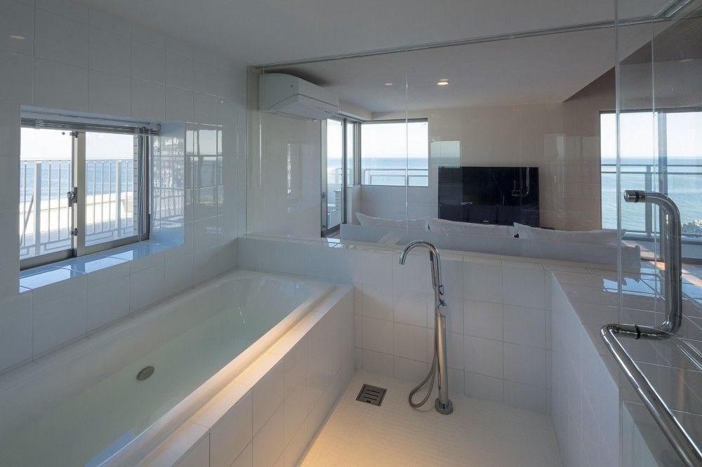 海沿いのマンション最上階のフルリノベーション マンション