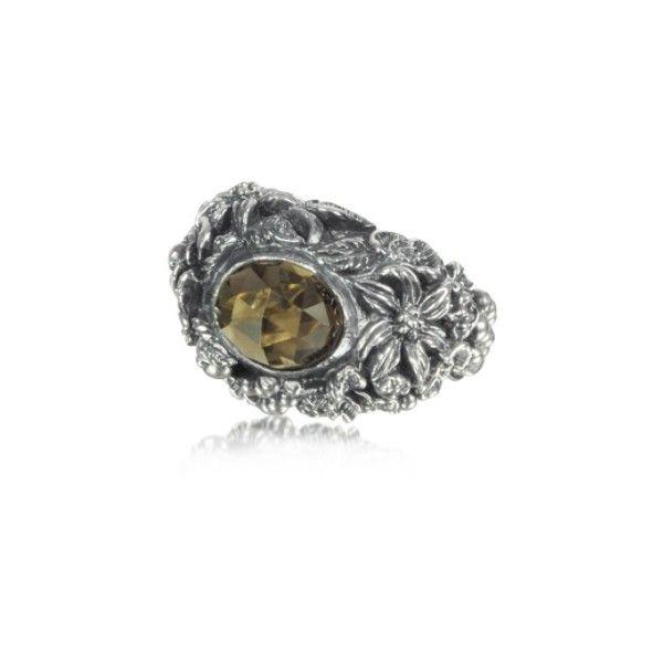 Ring for Women, Oxidised Silver, Silver, 2017, Medium Ugo Cacciatori