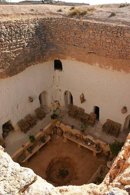 Africa | Underground House, Gharyan, Libya | © Mike Gadd