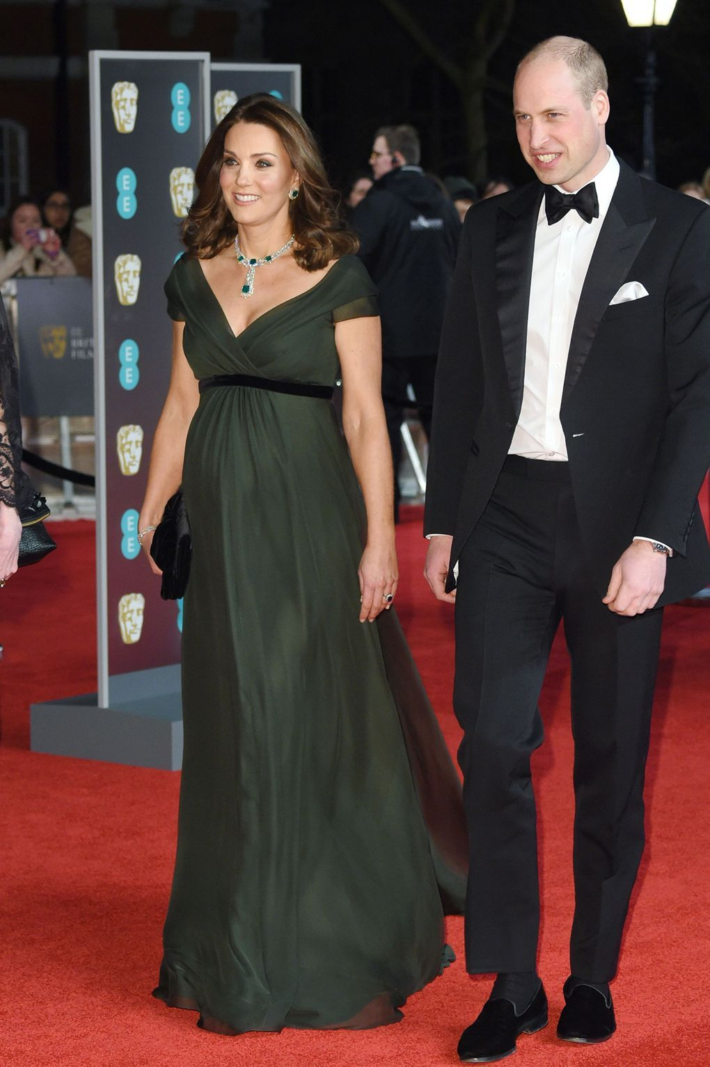 Kate Middleton opts out of black dress code at the BAFTAs 6b6b87e2d