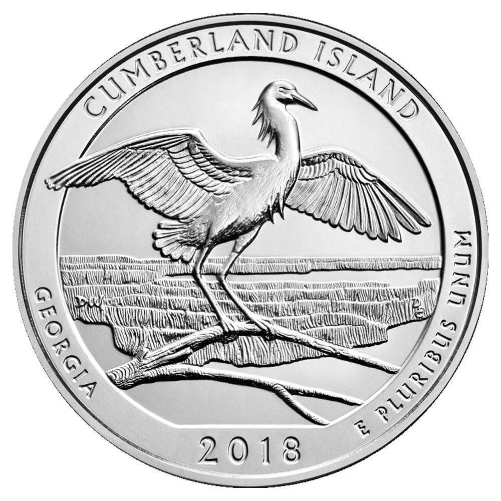 D Pictured Rocks 2018 P 2 Coin Set Uncirculated MI National Park Quarter Singles