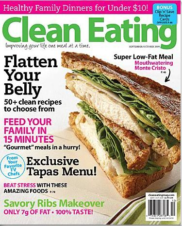 Clean eating my all time favorite magazine beautiful interesting eat clean magazine mmm that sammy looks delish forumfinder Images
