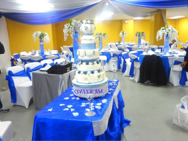 Royal Blue Wedding Decorations Decorating Points And Advice Http