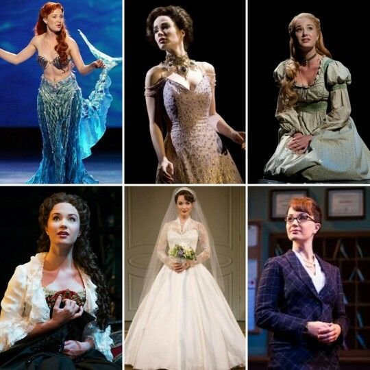 Sierra Boggess Ariel The Little Mermaid Christine Daae Love