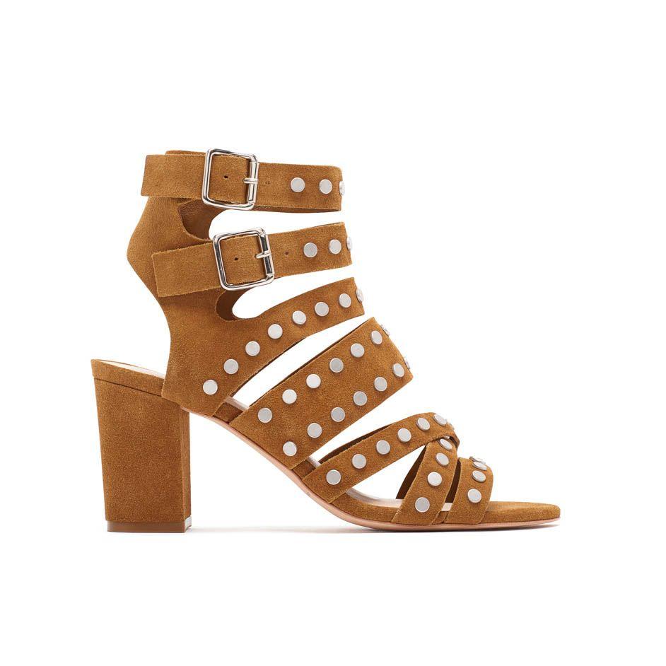 Loeffler Randall PF16 - Galia Strappy Heeled Sandal in Sienna