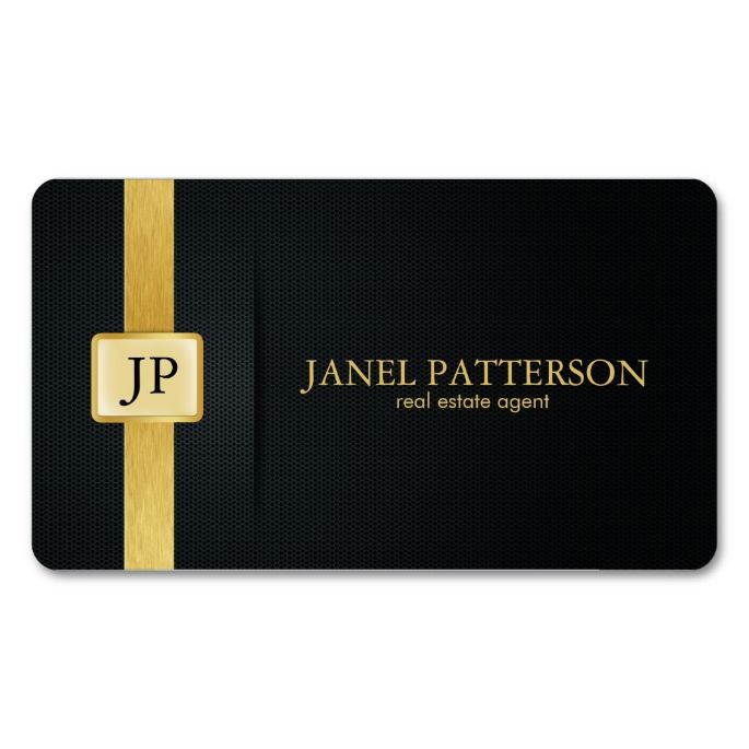 Elegant black and gold real estate agent business card pinterest elegant black and gold real estate agent double sided standard business cards pack of 100 i love this design it is available for customization or ready reheart