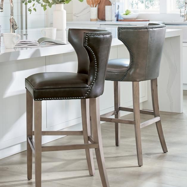 Meredith Bar & Counter Stool With images   Comfortable ...